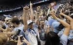 Tar Heels Upset No. 5 Duke in Chape