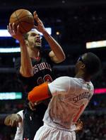 Noah Triple-Double Lifts Bulls