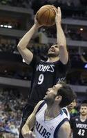 Rubio Tallies Triple-Double in Dall