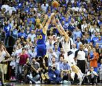 Curry Hits Game-Winner Against Mavs