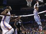 Thunder End Spurs Winning Streak