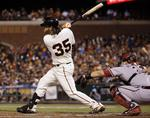 Giants' Crawford Doubles Thanks to