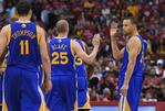 Paul Bests Thompson, but Warriors C