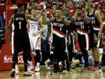 Blazers Top Rockets in Overtime