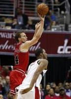 Dunleavy Helps Bulls Avoid 0-3 Hole
