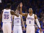 Westbrook Triple-Double Lifts OKC i