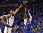 CP3 Lights Up Thunder From Deep