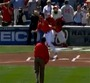 Obama Throws Out First Pitch