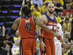 Wall, Gortat Dominate Pacers