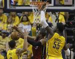 Pacers Take Game 1 From Heat