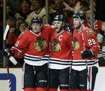 Blackhawks Top Kings With 3 Goals