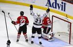 Kings Rout Blackhawks 6-2