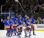 Rangers Win Game 4 in Overtime