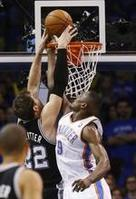 Thunder Get One Back Against Spurs