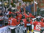 Blackhawks Narrowly Survive in 2OT