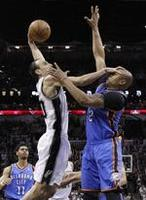 Spurs Roll Thunder in Game 5