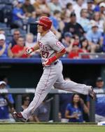 Trout Goes Deep in Kansas City