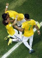 Brazil Bests Colombia but Loses Ney
