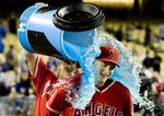 Angels Shut Out Dodgers