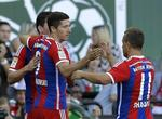 Lewandowski Strikes First for Bayer