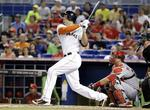 Marlins' Stanton Homers Twice