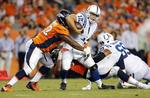 Broncos Hold Off Late Colts Surge t