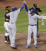 Late Home Runs Give Royals Game 1
