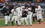 Cardinals' Error Gives Giants Walk-