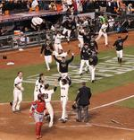 Walk-Off HR Sends Giants to World S