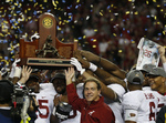 Alabama Cruises to SEC Title