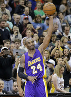 Kobe Passes Jordan on Scoring List