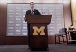 Harbaugh Introduced as Michigan Hea