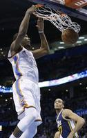 Durant Scores 32, Thunder Top Jazz