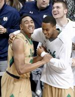 Notre Dame Holds Off Butler in Over