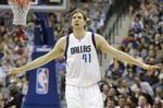 Nowitzki's 10,000th Rebound