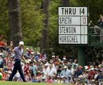 Spieth Breaks Masters 36-Hole Recor