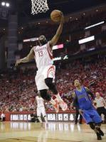 Harden Double-Double Lifts Houston