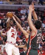 Butler's Playoff High Leads Bulls t