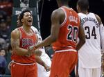 Rose Leads Bulls to 2OT Win in Milw