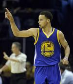 Curry, Warriors Turn It Up in Game