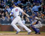 Bryant Hits 1st Wrigley HR, Rizzo F