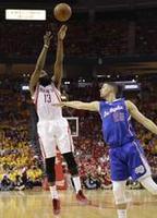Harden Triple-Double Keeps Rockets