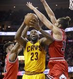 LeBron Takes Over, Scores 38 in Gam