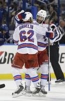 Rangers Rout Lightning to Force Gam