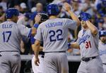 Kershaw Goes 3-for-4 Against Colora