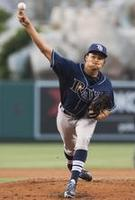 Chris Archer Strike Out 15 Angels