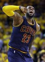 LeBron Triple-Double Lifts Cavs in