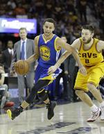 Curry, Warriors Even Series at 2-2