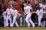 Trout Walk-Off Wins Second-Half Ope