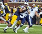 Michigan Steamrolls No. 22 BYU